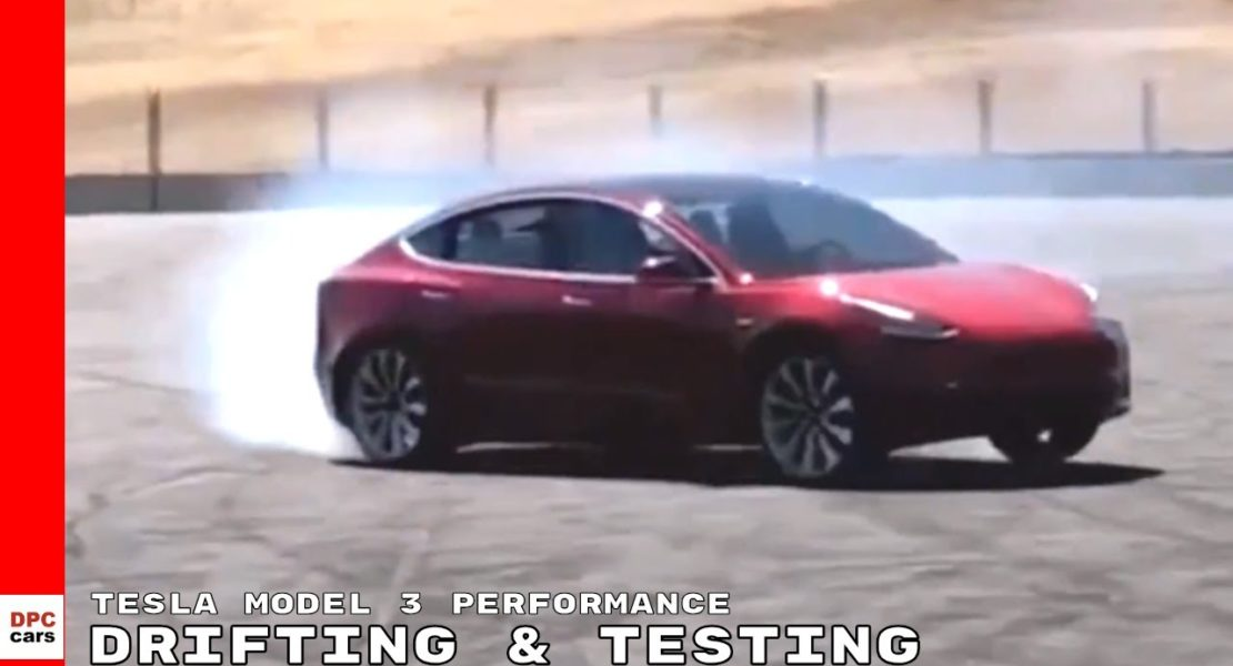 2019 Tesla Model 3 Performance Drifting & Testing