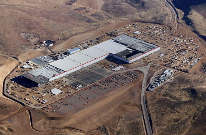 Tesla Gigafactory Model 3
