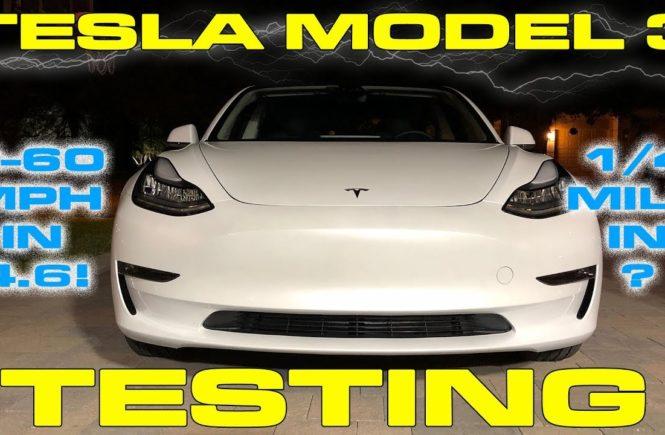 Tesla Model 3 Testing