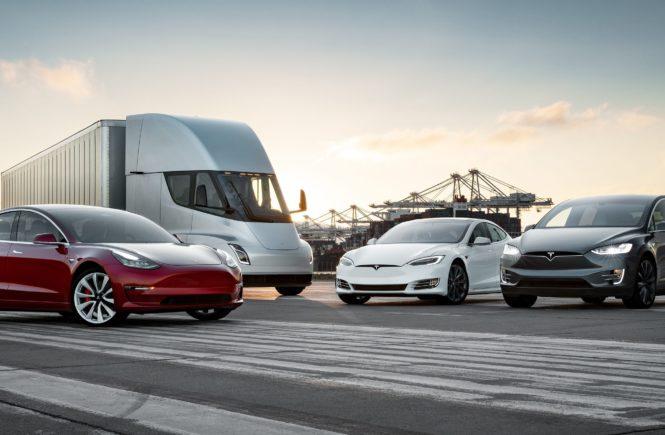 Tesla Trucking