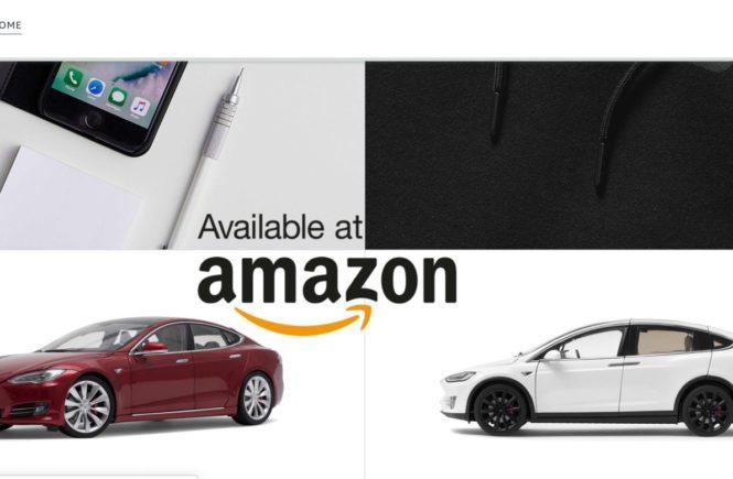 Tesla-Amazon-store